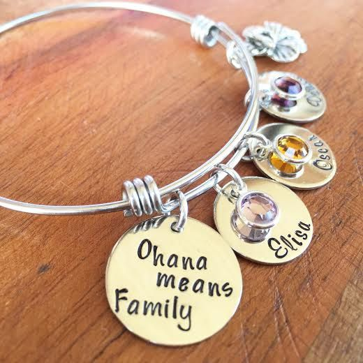 Jewelry  Disney  Disney Bracelet  Disney Bangle  by KKandWhimsy