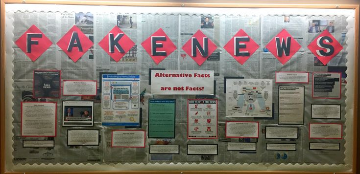 Fake news and information literacy bulletin board for March. #RA, resident assistant, res life, residence life, college, university, RHA, residence hall, dorm, bulletin board, fake, fake news, media, alternative facts, bias, media bias, politics, political,ISU, Manchester hall,