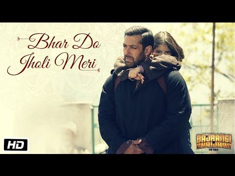 'Bhar Do Jholi Meri' VIDEO Song - Adnan Sami | Bajrangi Bhaijaan | Salman Khan - YouTube