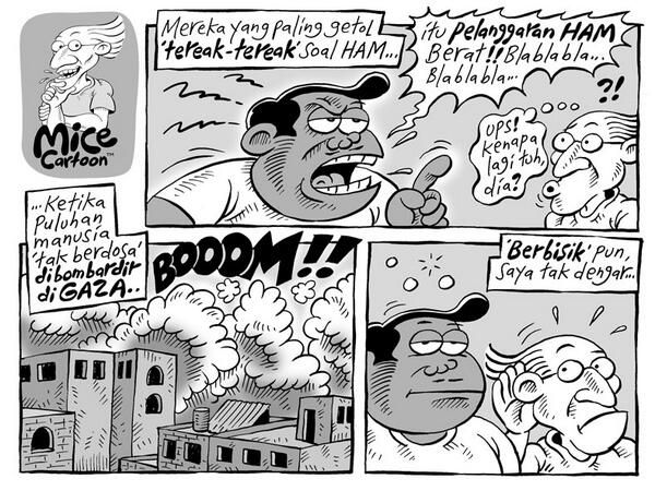 Mice Cartoon, Kompas Minggu 13 Juli 2014