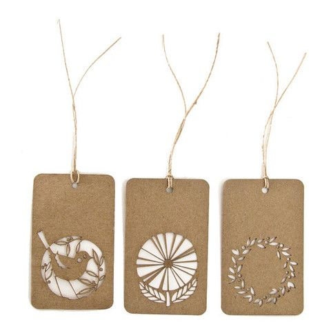 Gift tags - set of 10