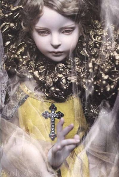 Doll / ラファエルの幻視 (2013) Raphael sculpt. Doll artist / Koitsukihime. Photograph / Hiroshi Nonami. / Sans Souci (2014)