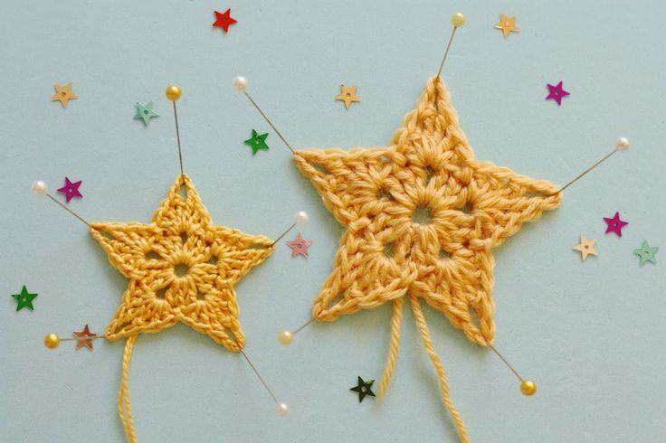 DIY: crochet stars