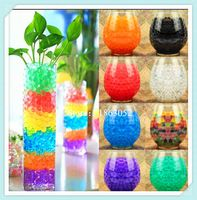 100 stks/zak Home Decor Pearl Vormige Crystal Bodem Modder Water Kralen Plant Bloem woondecoratie accessoires