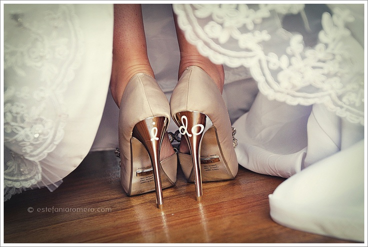 "Awesome ""I do"" shoes"