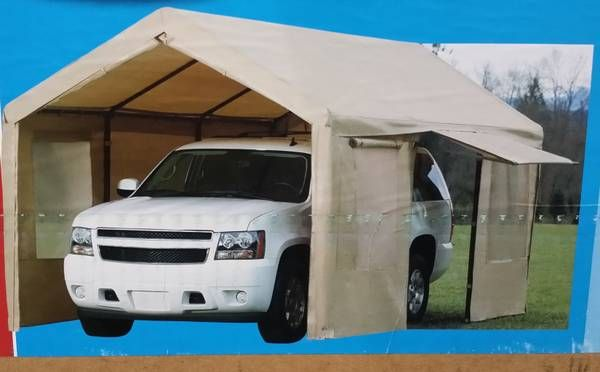 Portable Enclosed Canopy : The best enclosed carport ideas on pinterest