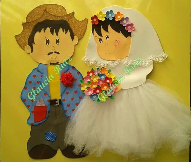 Casamento na roça, em EVA.
