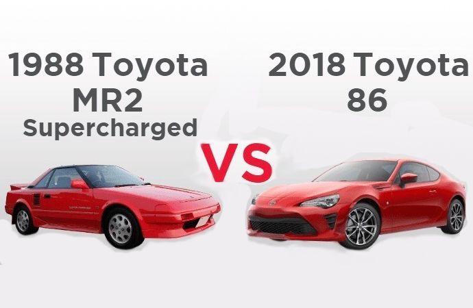 30 Jahre Spater Vergleicht Toyota Zukunftige Klassiker Klassische Auto Toyota Klassische Autos Klassiker