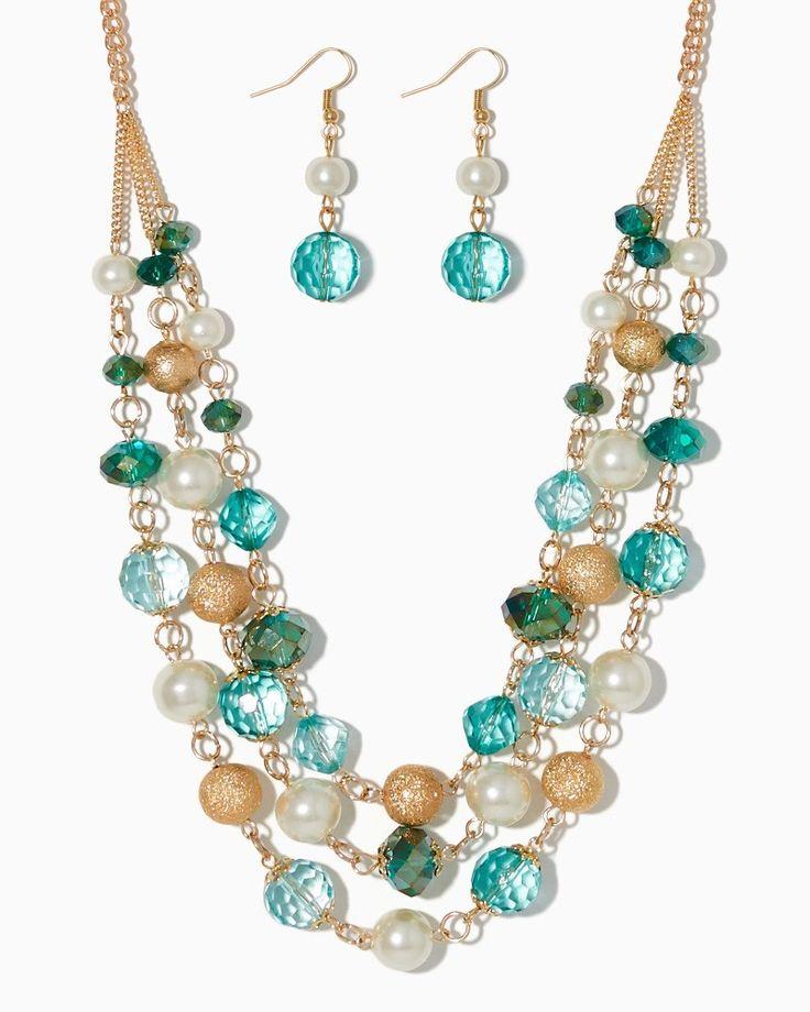 charming charlie   Stardust Serenade Necklace Set   UPC: 410006624900 #charmingcharlie