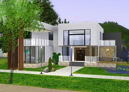 Xm sims 3 the sims 3 free downloads houses for Casas modernas sims 4 paso a paso