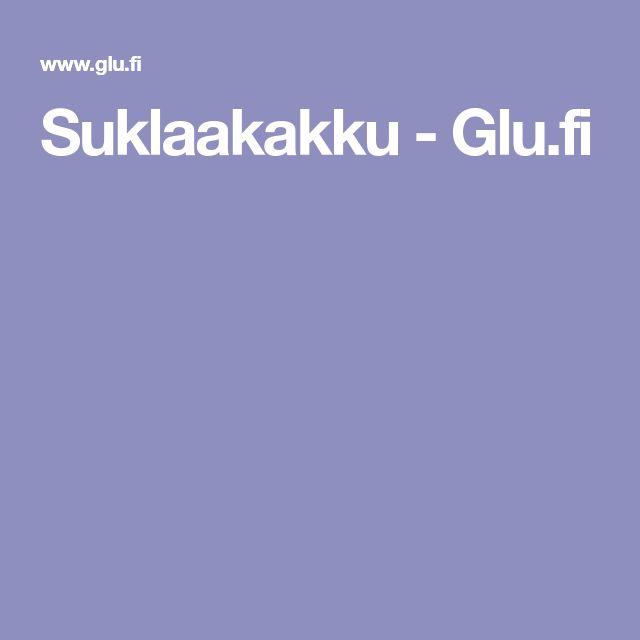 Suklaakakku - Glu.fi