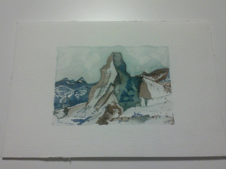 Monte Cervino. €16,00, via Etsy.