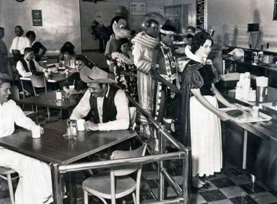 Disney character cafeteria for workers