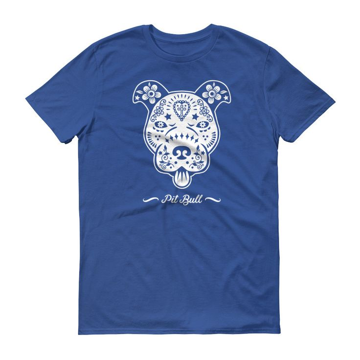 Sugar Skull Pitbull shirt