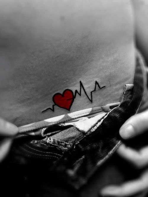 This would be a good nursing tattoo,  Go To www.likegossip.com to get more Gossip News!