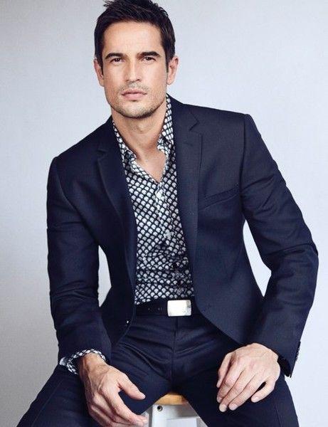 patterned shirts. Men suit. Men Fashion