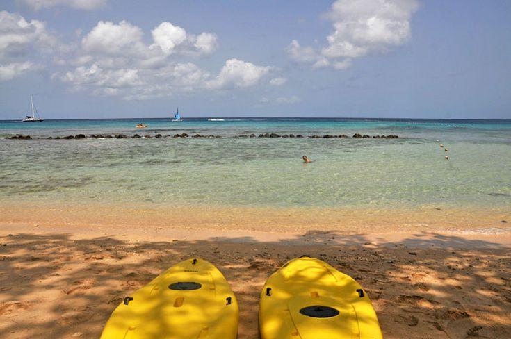 Sea Kayaks, Barbados // @Matty Chuah Club Barbados Resort  Spa