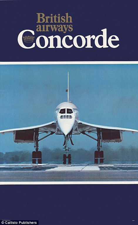 British Airways promoted its launch of the Concorde in the mid-1970s...