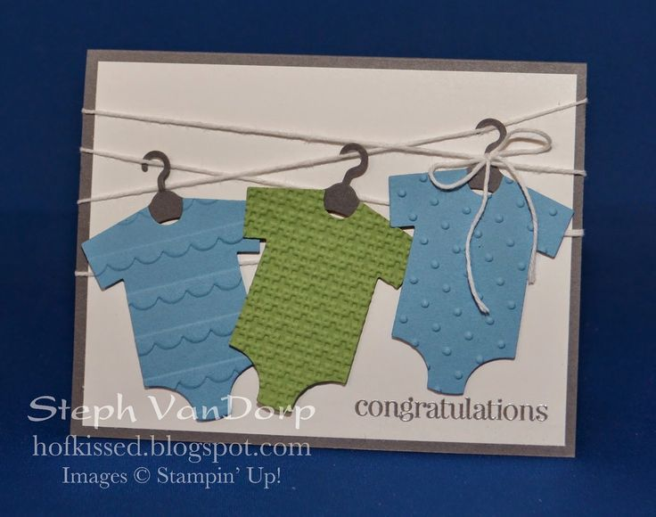 Hofkissed: Baby Boy for Sunday Stamps SSC79 - Baby's First Framelits & Something for Baby stamp set