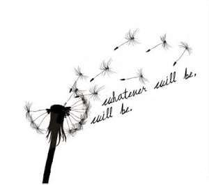 Dandelion Tattoo ... I want this on my shoulder without the words