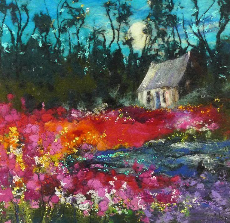 Mackay-Secret-Garden: FELT TO FRAME: VISUAL IMAGERY IN FELT with Moy Mackay Aug. 26th-27th, 2014