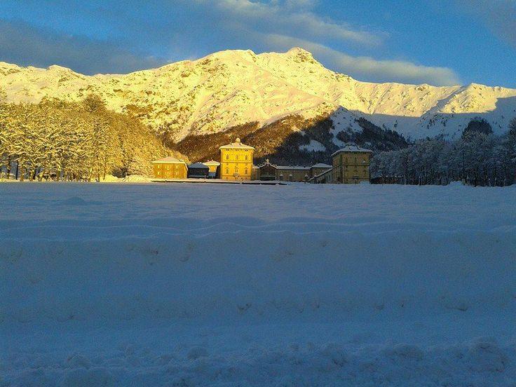 #Oropa #neve #snow #chiesa  #church