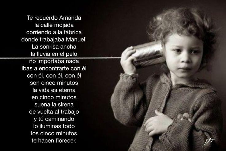 Te recuerdo Amanda. Canción y letra de Víctor Jara