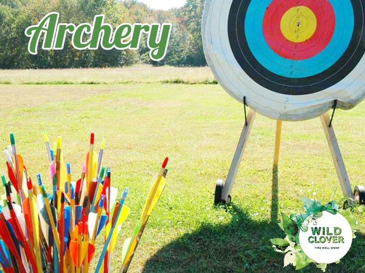 Join us in a game of #archery! Our coach is on hand every Saturday morning.  Link: http://ow.ly/x8eK7