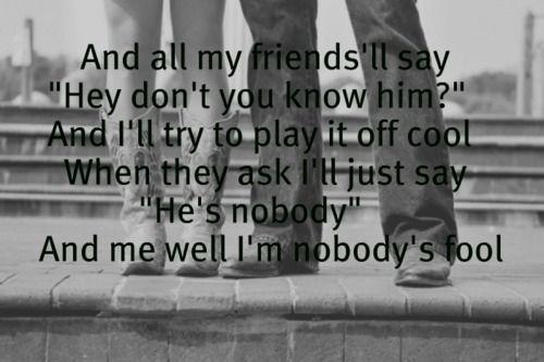 """""""Nobody's Fool"""" - Miranda Lambert"""