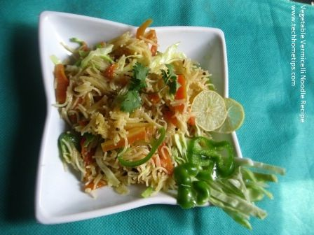How to make Vegetable Vermicelli Noodle Recipe? Friends, I am presenting you an easy and instant breakfast recipe today. This recipe is similar to Chow Min and Maggie. Today, I am talking about Vermicelli, which is called Seviyan in Hindi and Urdu. In the south parts of India people called it Semiya. There are many …