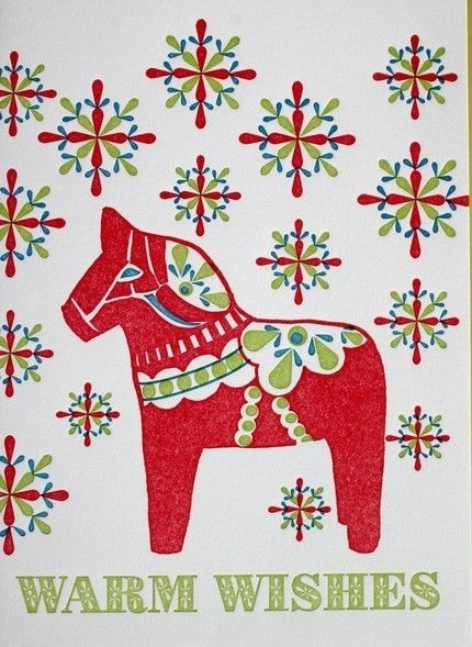 the history of the dala horse (and a link to a dala craft-along