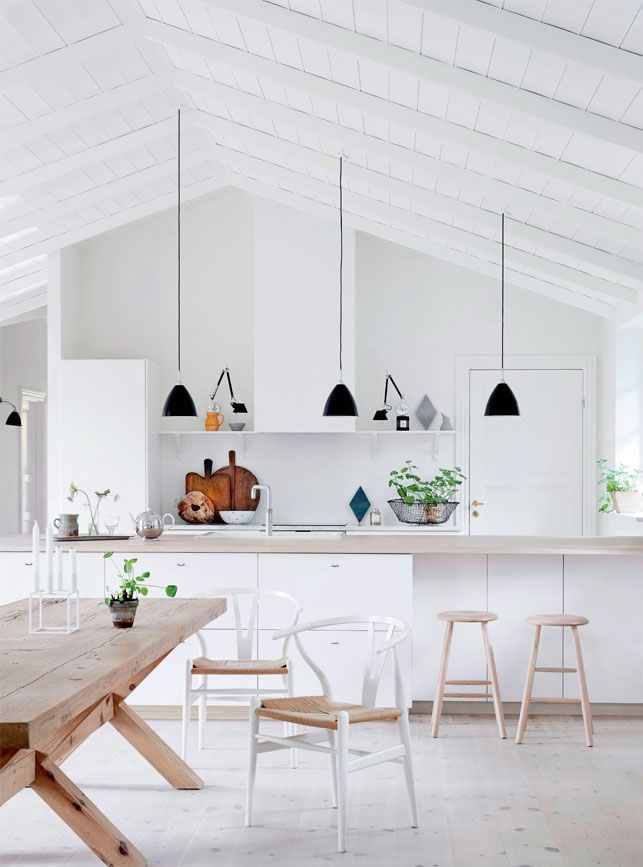 Modern White Kitchen Decor best 20+ scandinavian kitchen ideas on pinterest | scandinavian