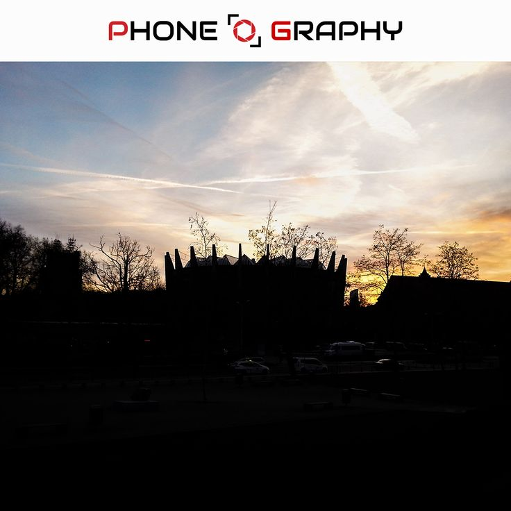Sky over Wroclaw Find me on Fotolia / Adobe Stock: 98743746 http://bit.ly/adobe-13  #phoneography #fotolia #instant #adobestock #igers #igerswroclaw #igerspoland #wroclaw #wroclove #miastospotkan #bluesky #panorama #dark #goldensky #goldenhour #zlotagodzina #trees #clouds #cloudyday #nofilter #photoshop #retouch #13