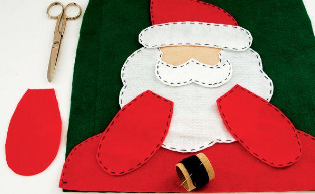 Santa Claus en fieltro