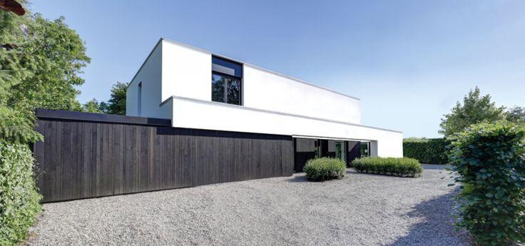 Mooie voorkant van een huis