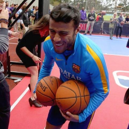 Barca, smile, and soccer image