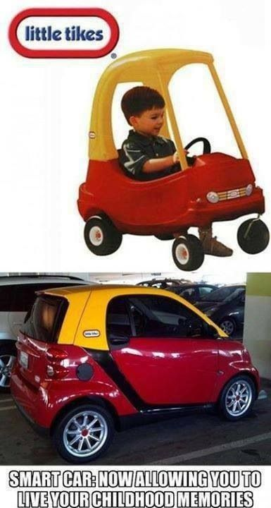 Little tikes smart car