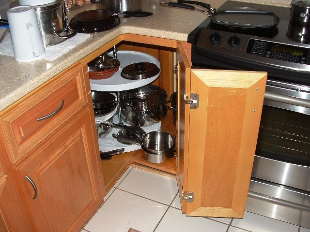 kitchen cabinet corner kitchen base cabinet here you have the standard round lazy susan for the inside corners of your kitchen base cabinets once again the