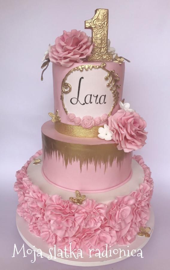 Cake for little princess by Branka Vukcevic
