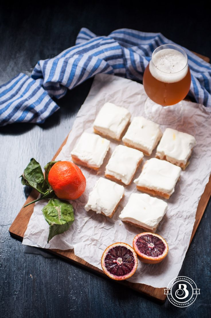 733 best craft beer food images on pinterest beer cake recipes blood orange ipa bars with saffron cream forumfinder Image collections