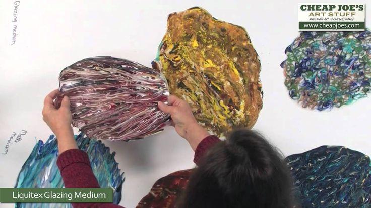 Debbie Arnold- Revealing Acrylic Poured Skins (+playlist)
