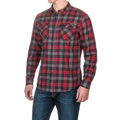 Gramicci Burner Flannel Shirt (For Men) - Save 62%