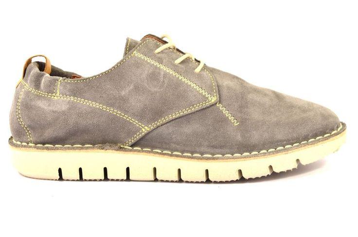 CAFè NOIR MPP601 016 GRIGIO Sneaker PP601 Uomo Scarpa Desert Boot Clark Camoscio