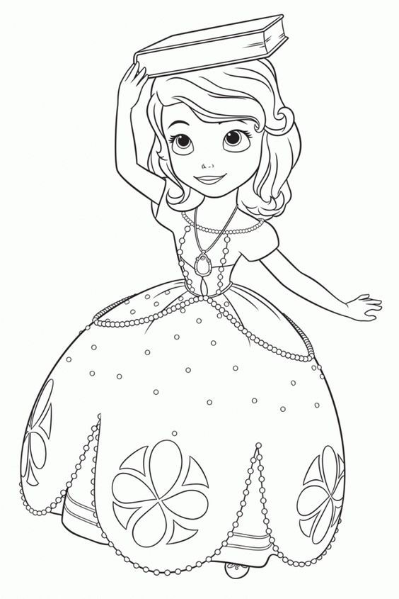 Sofia The First Coloring Pages Amber Disney Princess Coloring Pages Mermaid Coloring Pages Coloring Book Art