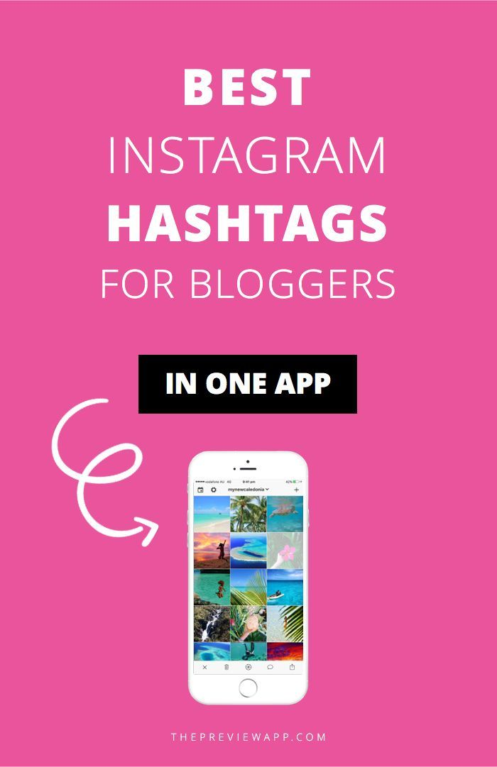 No more copy and paste! All the best Instagram hashtags groups for bloggers are in one app. Directly add your favorite Instagram hashtags to your caption and share!