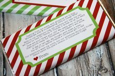 Candy Bar Wrapper Printable -- wish I would have seen this a couple days ago.