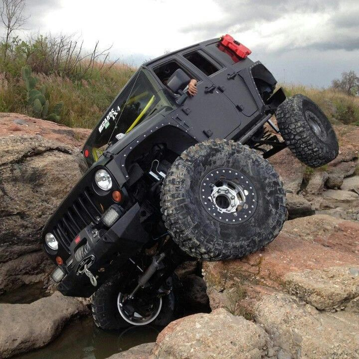 "JK jeep rock crawling...""no, really, i got this..."""