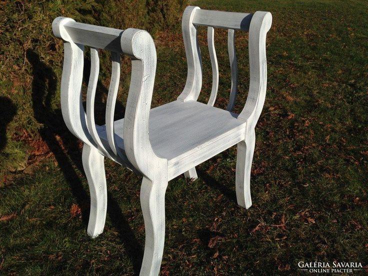 Provence bútor, antikolt etrüszk, szék.