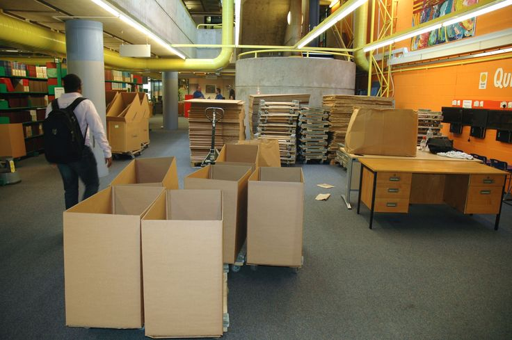 What could all these boxes be for?
