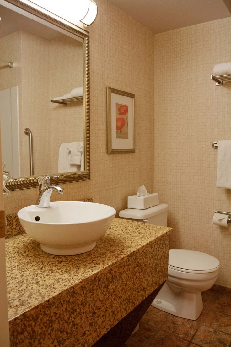 We admit it.. our bathrooms are cute.